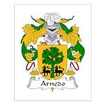 Arnedo Family Crest Small Poster