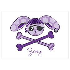 Pirate Bunny Invitations