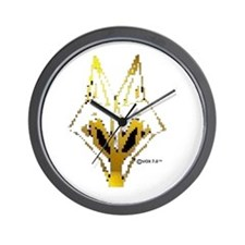 VOX 7.0™ OFFICIAL LOGO BLURR pixelate Wall Clock