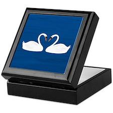 Swans Keepsake Box