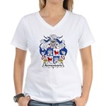 Armendariz Family Crest Women's V-Neck T-Shirt