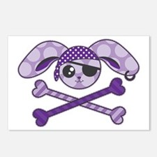 Pirate Bunny Postcards (Package of 8)