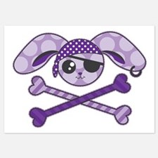 Pirate Bunny Invitations