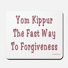 Yom Kippur Forgiveness Mousepad