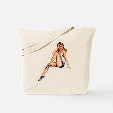 Cute Pin up Tote Bag