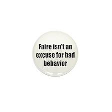Bad Behavior Mini Button (10 pack)