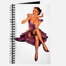 Retro pin up hot rod Journal