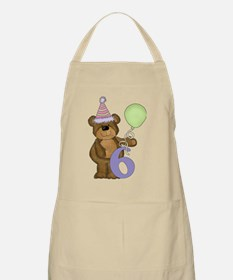 I am 6 Years Old Today Apron