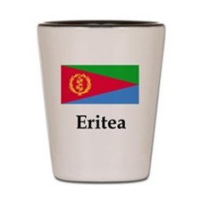 Eritrea Flag Shot Glass