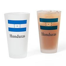 Honduras Flag Drinking Glass