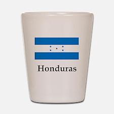 Honduras Flag Shot Glass