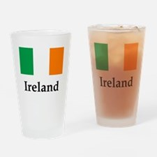 Ireland Flag, b Drinking Glass