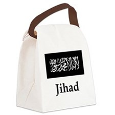 Jihad Flag Canvas Lunch Bag