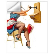 Pin up Wall Decal