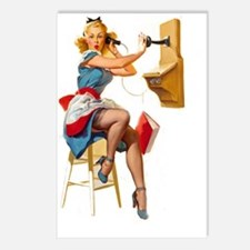 Pin up Postcards (Package of 8)