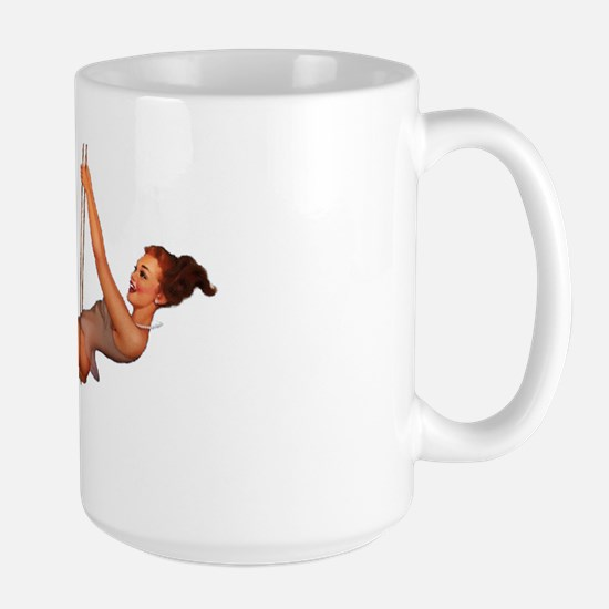 Pin up Large Mug