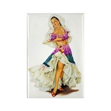 Pin up Rectangle Magnet