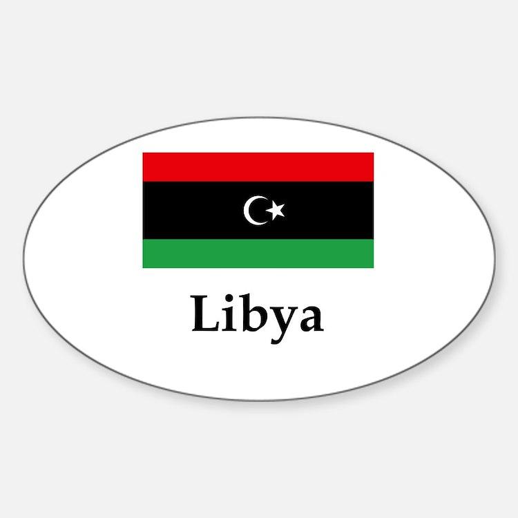 Libya Flag Decal