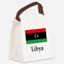 Libya Flag Canvas Lunch Bag