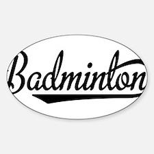 badminton Decal