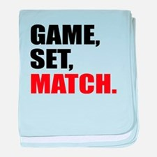 game,set,match baby blanket