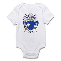 Arista Family Crest Infant Bodysuit