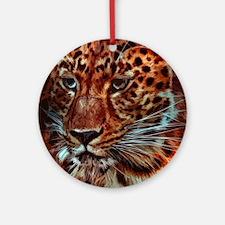 Jaguar 028 Round Ornament