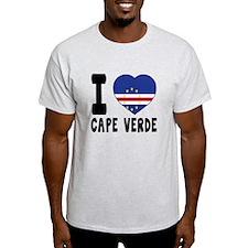 I Love Cape Verde T-Shirt