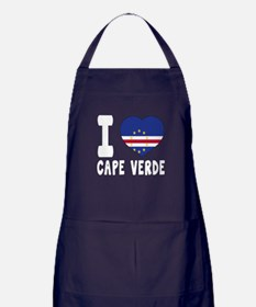 I Love Cape Verde Apron (dark)