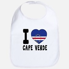 I Love Cape Verde Bib