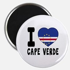 I Love Cape Verde Magnet
