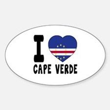 I Love Cape Verde Decal