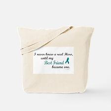 Never Knew A Hero OC (Best Friend) Tote Bag
