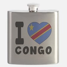 I Love Congo Flask