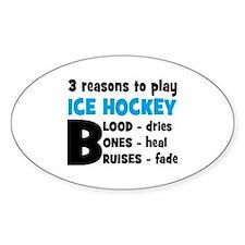 ice hockey Decal