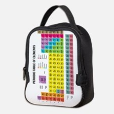 Periodic Table Of Elements Neoprene Lunch Bag