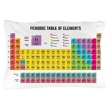Periodic table Pillow Cases