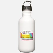 Periodic Table Of Elements Sports Water Bottle