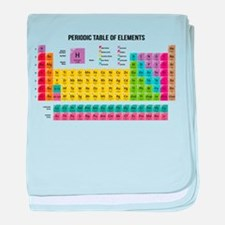 Periodic Table Of Elements baby blanket