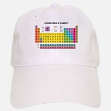 Periodic Table Of Elements Baseball Baseball Cap