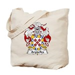 Arguelles Family Crest Tote Bag