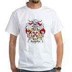 Arguelles Family Crest White T-Shirt