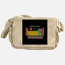 Periodic Table Of Elements Messenger Bag