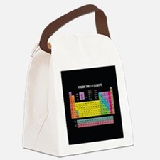 Periodic Table Of Elements Canvas Lunch Bag