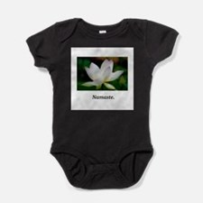 Lavendar Water Lily Namaste Gifts Baby Bodysuit