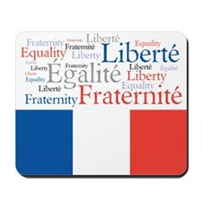 Celebrate France Mousepad