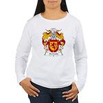 Arevalo Family Crest  Women's Long Sleeve T-Shirt