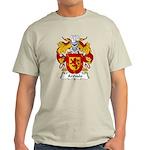 Arevalo Family Crest  Light T-Shirt