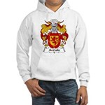 Arevalo Family Crest Hooded Sweatshirt