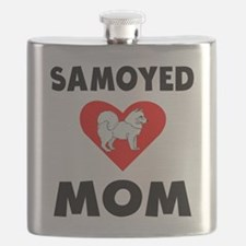 Samoyed Mom Flask